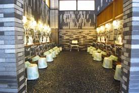 写真:洗い場